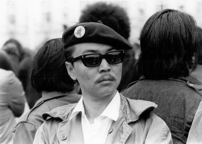 Richard Aoki, who died  at the age of 70, was a field marshal in the Black Panther Party, and along with Panther leaders Huey Newton and Bobby Seale, wrote the Panthers' famous 10-point platform. He was a founding member of the Asian American Political Alliance