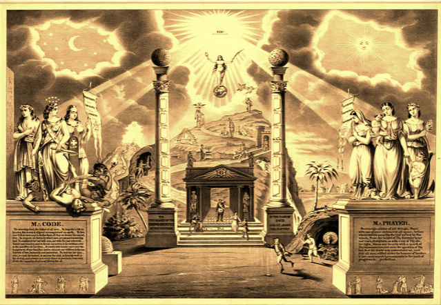 Cover image from Warlock Asylum's new book, The Genealogy of God, a text every atheist, religious adherent, and spiritual practitioner should have.