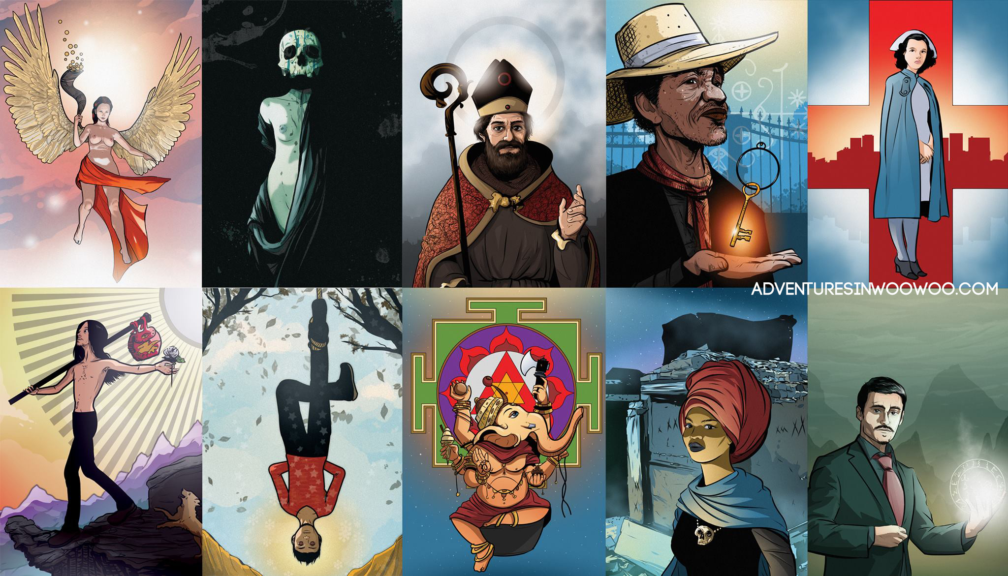 Fine selection of altar cards created by Tommie Kelly