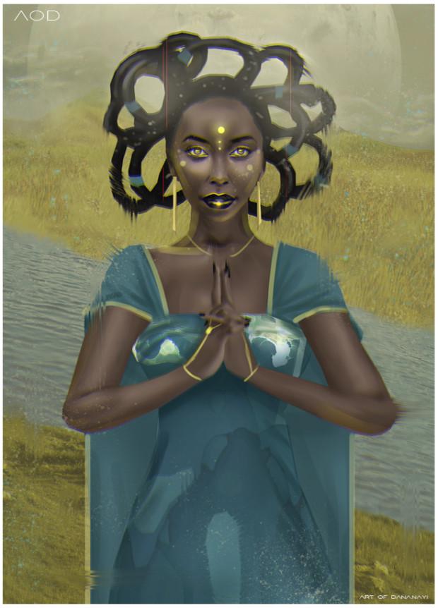 Peace of Mind by artist - Dananayi Muwanigwa
